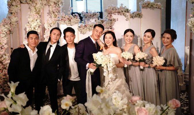 陈坤当伴郎首次当伴郎 海一天婚礼照片